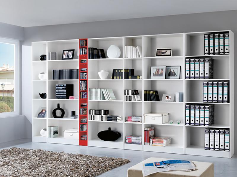 Estanterías modulares para oficinas