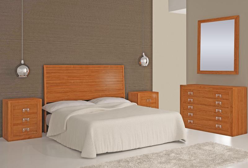 Dormitorio de Matrimonio Madera 58 MAT MAC 07