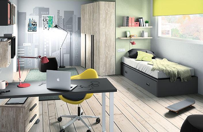 Dormitorio-juvenil-vintage-grafito-002-127-JUV-MOD-72