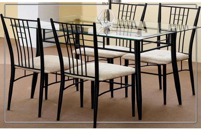 mesa-cristal-y-6-sillas-piel-sintetica