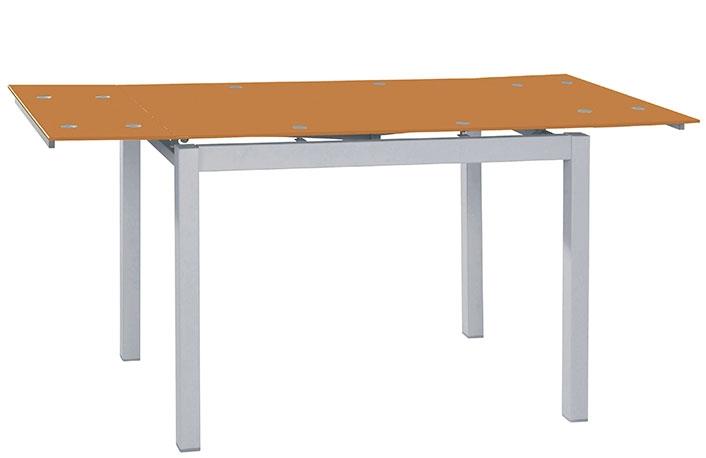 Mesa cocina extensible cristal