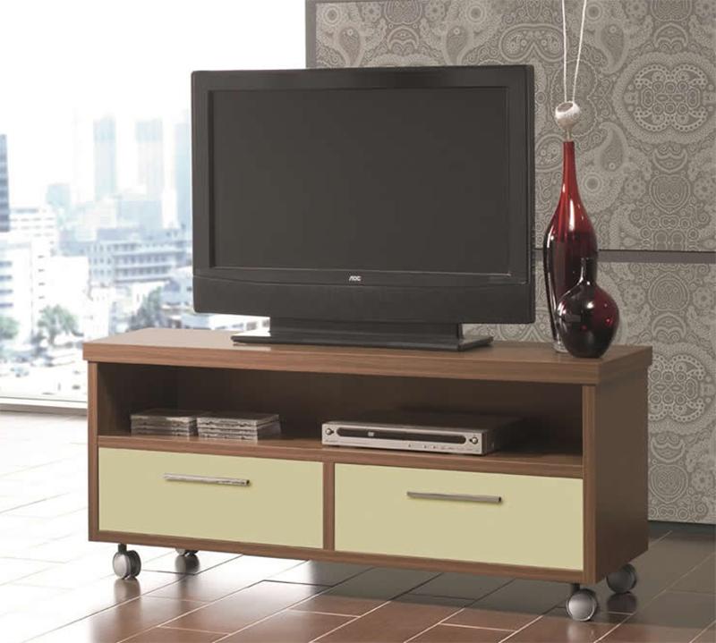 Mesa para TV con conjones y repisa