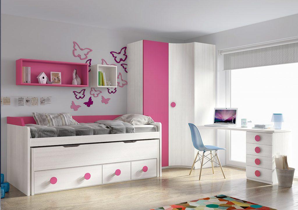 mueble-juvenil-cama-nido-escritorio-armario-019 JUV MOD 24