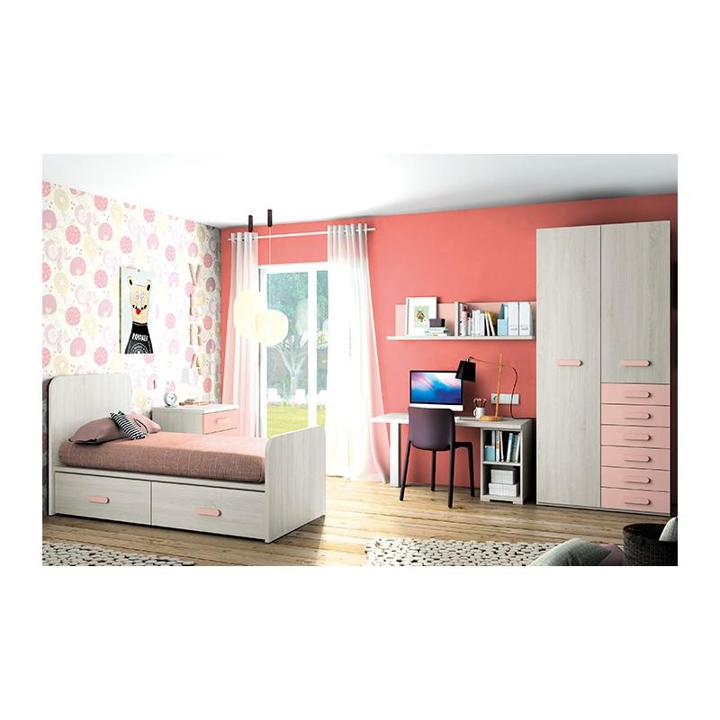 Dormitorio-juvenil-caledonian-rosa-002-127-MOB-INF-37-2