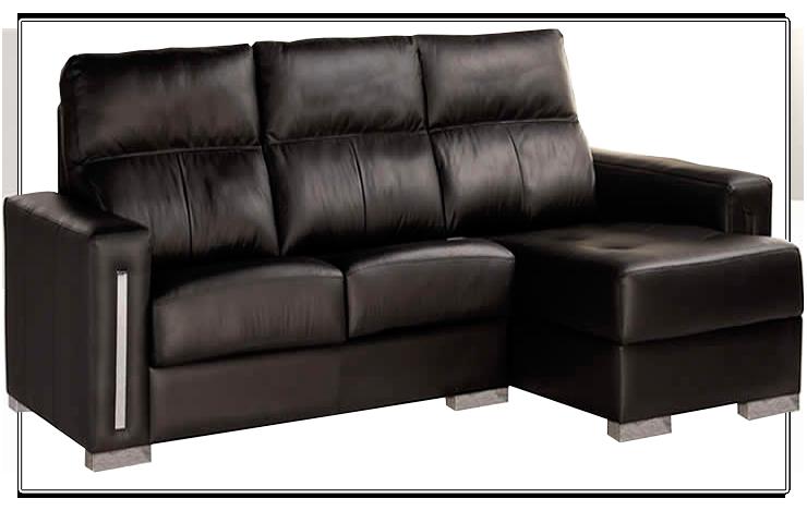 sofa de piel sintética