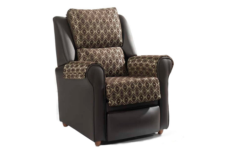 sillon relax polipiel retro