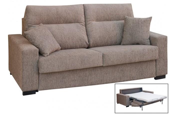 Sofá cama italiano de 2 plazas con diseño moderno