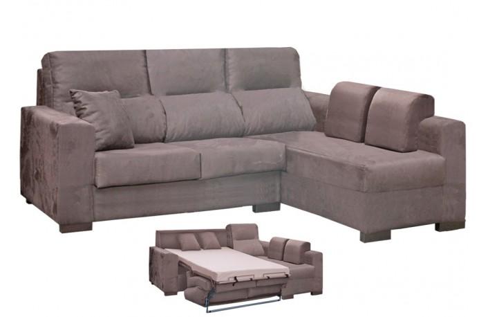 Sofá chaiselongue con cama italiana de diseño moderno