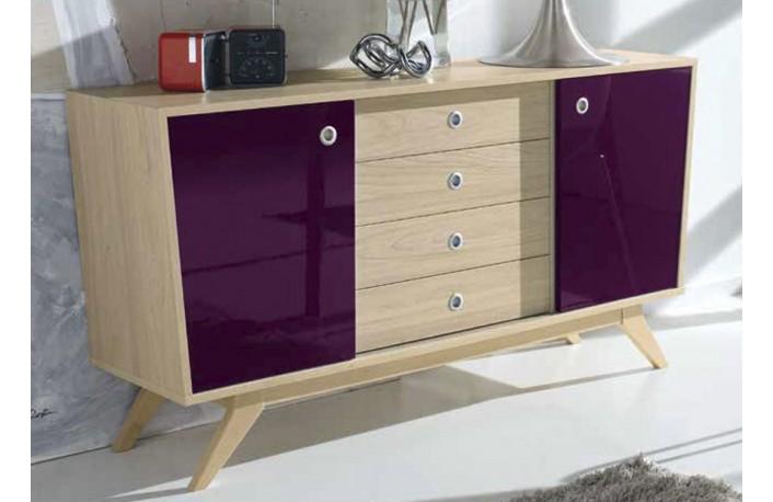 mueble-vintage-comedor-2-puertas-4-cajones
