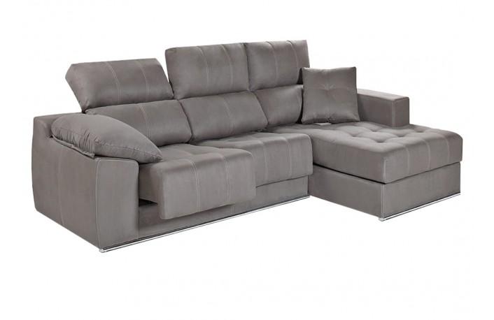 sofa-chaise-longue-barato-tela-capitone-gris