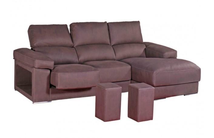 sofa-chaise-longue-moderno-puffs-marron