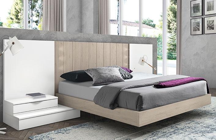 Dormitorio moderno nature blanco