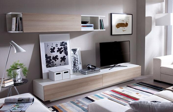 Composicion salon 270 cm artic nordico