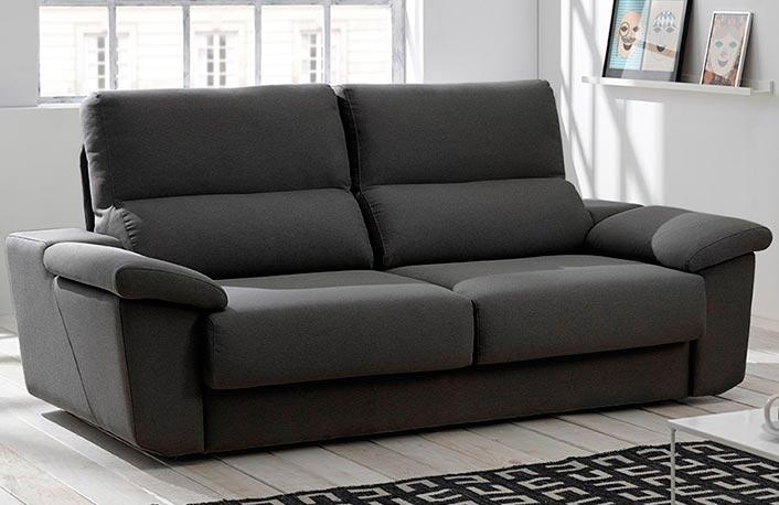 Sofa 3 plazas con diseno moderno y elegante