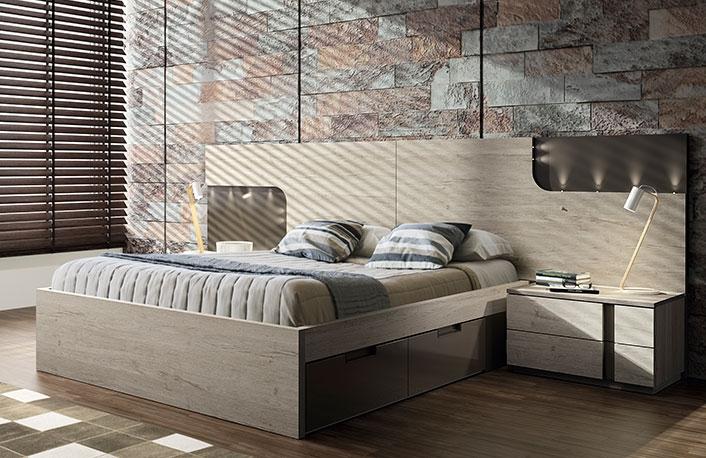 Dormitorio moderno nature vison