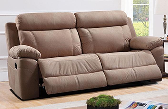 Sofa sistema relax palanca en marengo o beige