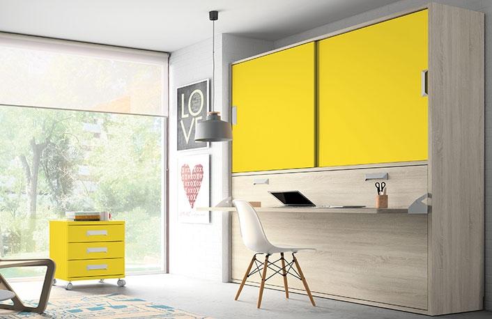 Dormitorio juvenil caledonian yellow